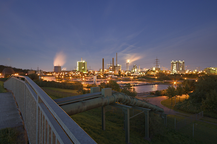 specialty chemicals for industrial water plant