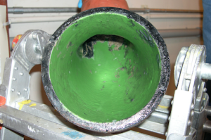 struvite removal wastewater